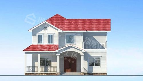 农村自建两层钢结构图片欣赏