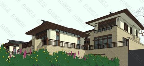 农村自建中式别墅