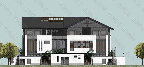 清雅的中式别墅风格欣赏
