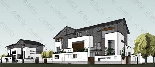 青砖小瓦中式风格超赞外观