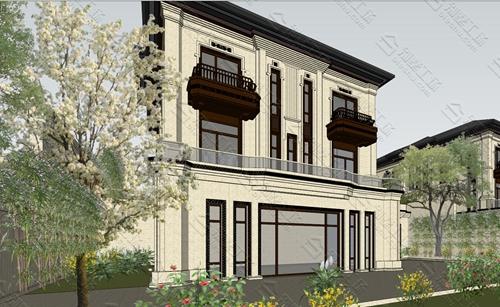 三层新中式案例农村自建房