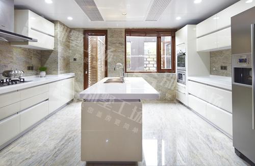 三层农村别墅中式风格厨房图片