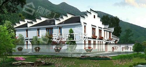 苏式四合院两层小别墅图片欣赏