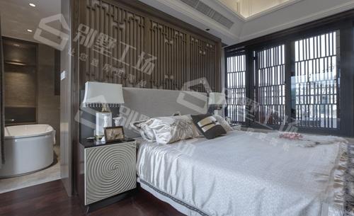 两层农村新中式庭院小别墅卧室图片一