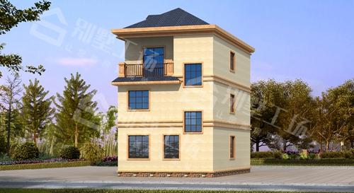 宅基地依旧能建的小开间别墅图片欣赏