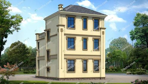 欧式小开间小别墅图片