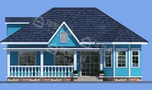100平米轻钢别墅每平米价格图片