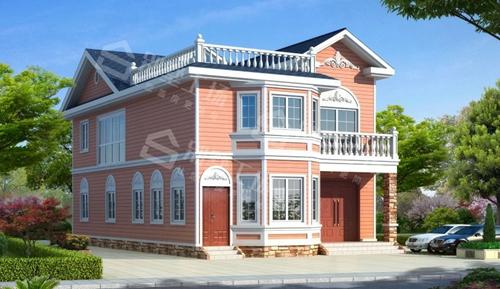 两层轻钢别墅每平米价格图片