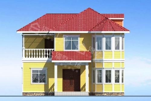 农村自建轻钢别墅门窗单价每平多少图片
