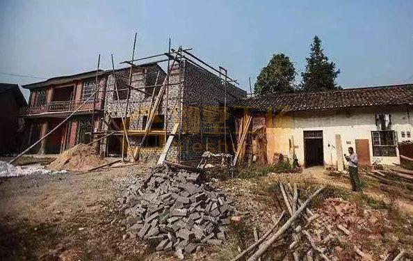 农村翻建房屋