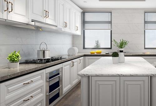 法式风格装修厨房展示