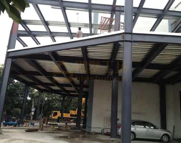 钢结构别墅建造流程