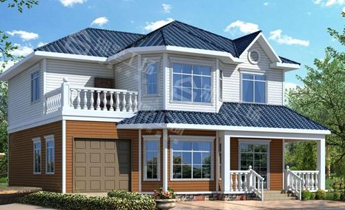 二层农村自建轻钢屋面改造