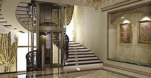 室内豪华电梯展示