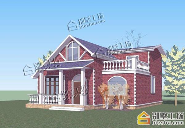 乡下建房一层户型图最小面积效果图