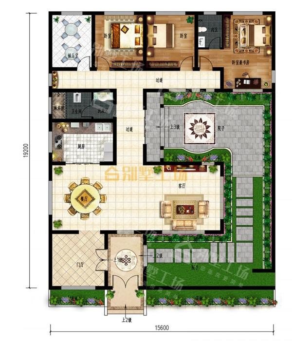 乡下建房一层户型图长沙自建房设计