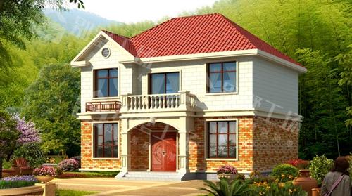 轻钢房屋外观效果图