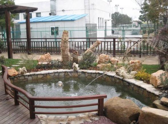 别墅庭院景观设计水景