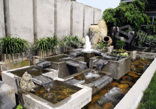 别墅庭院景观设计水