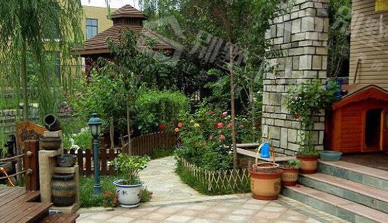 别墅庭院景观设计植物搭配