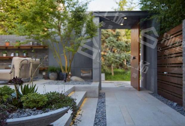 别墅庭院景观设计排水