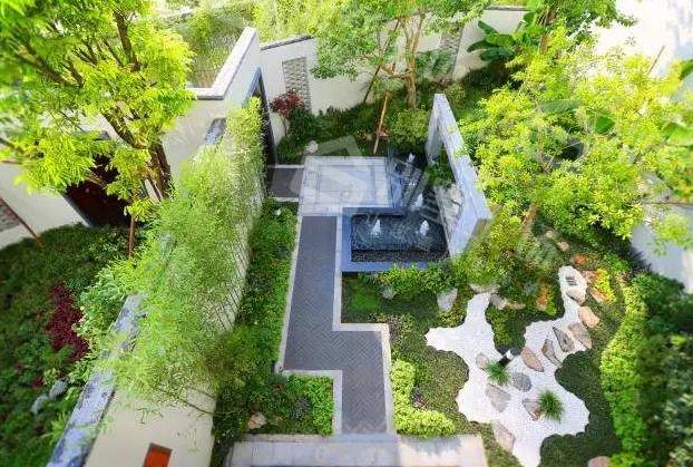 别墅庭院景观设计私密性