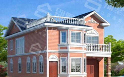 两层100平轻钢别墅每平米价格多少,平常人建的起吗?1