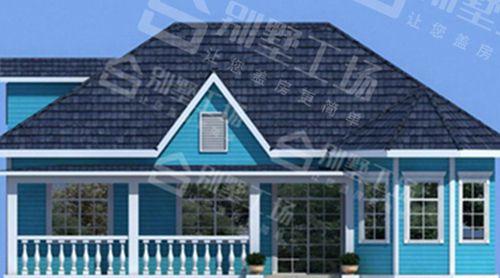 两层100平轻钢别墅每平米价格多少,平常人建的起吗?2