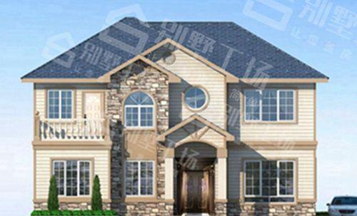 两层100平轻钢别墅每平米价格多少,平常人建的起吗?3