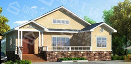 两层100平轻钢别墅每平米价格多少,平常人建的起吗?4