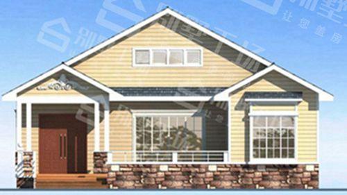 两层100平轻钢别墅每平米价格多少,平常人建的起吗?5