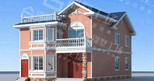 两层100平轻钢别墅每平米价格多少,平常人建的起吗?6