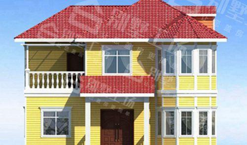 两层100平轻钢别墅每平米价格多少,平常人建的起吗?8