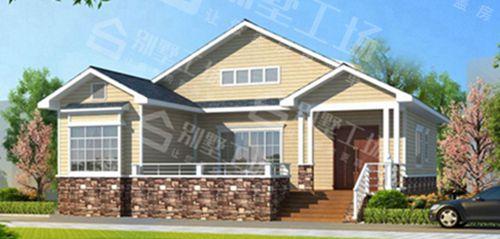 两层100平轻钢别墅每平米价格多少,平常人建的起吗?9