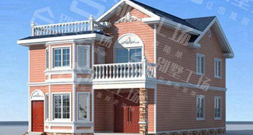 两层100平轻钢别墅每平米价格多少,平常人建的起吗?10