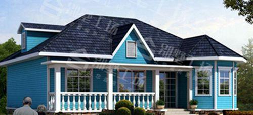两层100平轻钢别墅每平米价格多少,平常人建的起吗?12