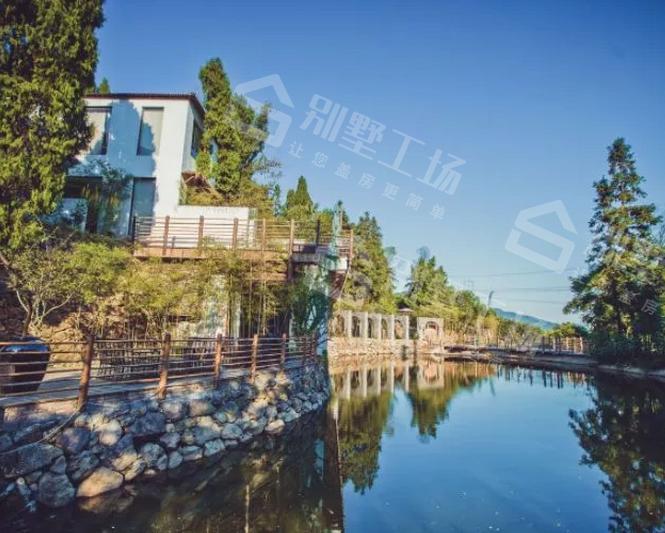 山野风情的浪漫别墅民宿装修图片